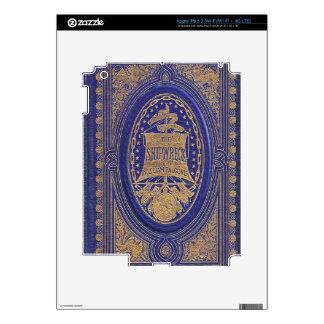 Falln The Shipwreck Book iPad 3 Skin
