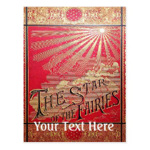 Falln The Star of the Fairies Book Cover Postcard
