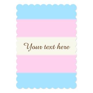 Falln Transgender Pride Flag Card
