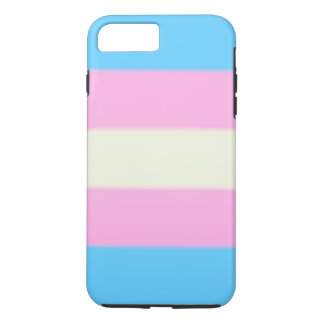 Falln Transgender Pride Flag iPhone 8 Plus/7 Plus Case
