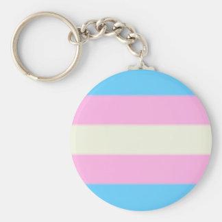 Falln Transgender Pride Flag Keychain