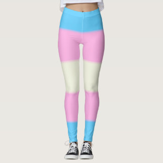 Falln Transgender Pride Flag Leggings