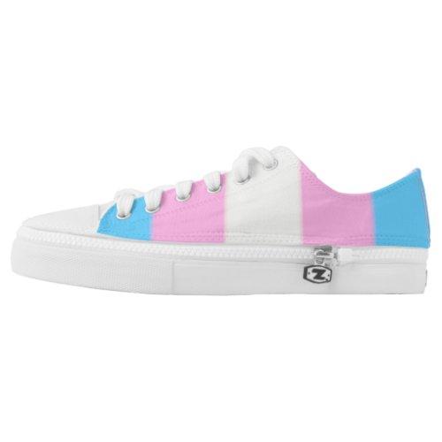 Falln Transgender Pride Flag Low_Top Sneakers