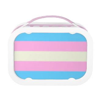 Falln Transgender Pride Flag Lunch Box