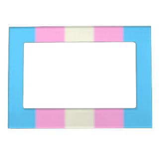 Falln Transgender Pride Flag Magnetic Picture Frame