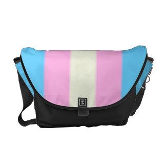 Falln Transgender Pride Flag Messenger Bag