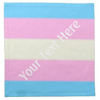 Falln Transgender Pride Flag Napkin