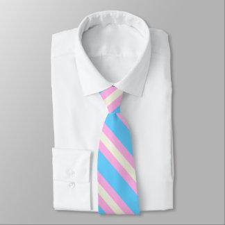 Falln Transgender Pride Flag Neck Tie