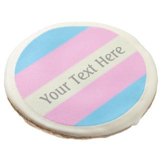 Falln Transgender Pride Flag Sugar Cookie
