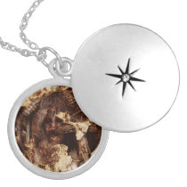 Falln Trapped Within Locket Necklace