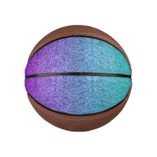 Falln Tropical Dusk Glitter Gradient Basketball