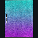"""Falln Tropical Dusk Glitter Gradient Dry-Erase Board<br><div class=""""desc"""">Click &#39;Customize&#39; to add in your own personalized text!  If it happens to say """"Your Text Here"""",  but you don't want the text on your item,  click 'customize' and delete the text before adding it to your cart.</div>"""