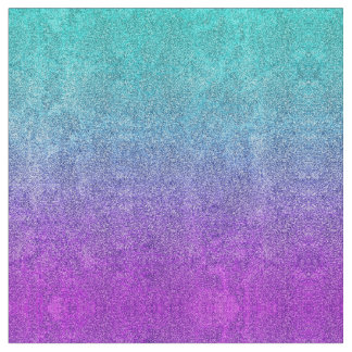 Falln Tropical Dusk Glitter Gradient Fabric