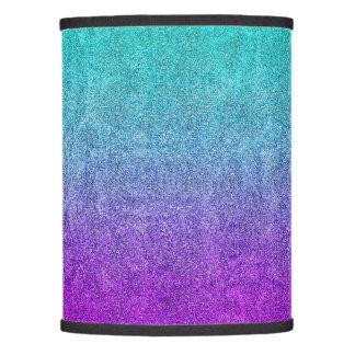 Falln Tropical Dusk Glitter Gradient Lamp Shade