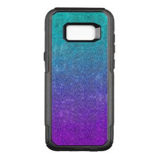 Falln Tropical Dusk Glitter Gradient OtterBox Commuter Samsung Galaxy S8+ Case
