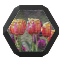 Falln Tulips Aflame Black Bluetooth Speaker
