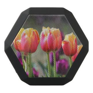 Falln Tulips Aflame Black Bluetooth Speaker