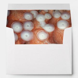Falln Up Close Octopus Envelope