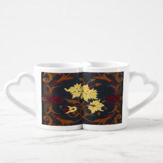 Falln Victorian Vines Book Couples Coffee Mug