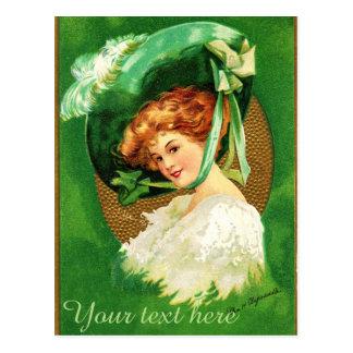 Falln Wearing of the Green Postcard