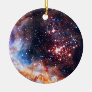 Falln Westerlund Star Field Ceramic Ornament