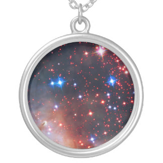 Falln Westerlund Star Field Silver Plated Necklace