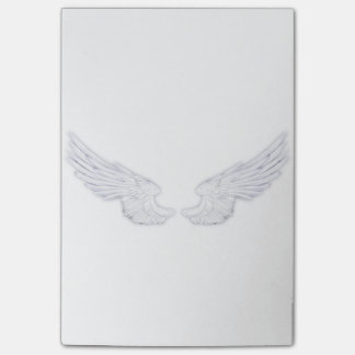 Falln White Angel Wings Post-it Notes