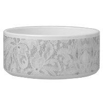 Falln White Lace Bowl
