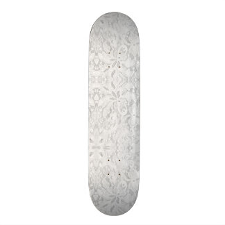 Falln White Lace Skateboard Deck