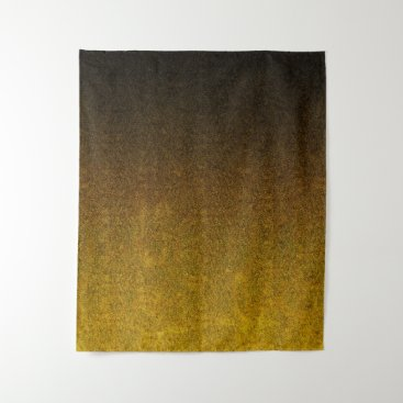 Halloween Themed Falln Yellow & Black Glitter Gradient Tapestry