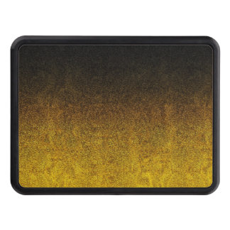 Falln Yellow & Black Glitter Gradient Tow Hitch Covers