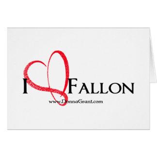 Fallon Greeting Card