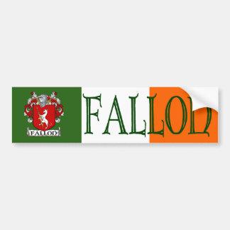 Fallon Coat of Arms Bumper Sticker