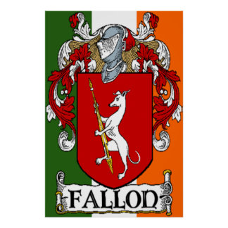 Fallon Coat of Arms Print