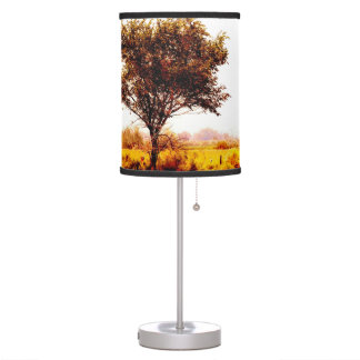 """Fallon Field"" JTG Art Table Lamp"