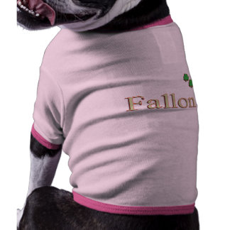 Fallon Irish Name Dog Clothes