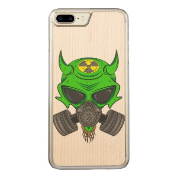 Halloween Themed Fallout Hellion Carved iPhone 7 Plus Case