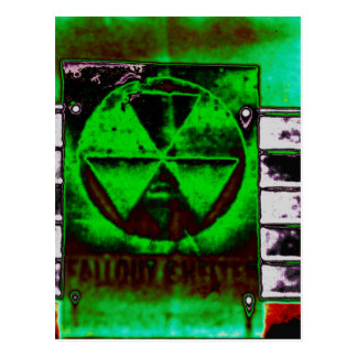Fallout in the sky postcard