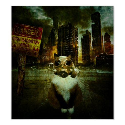 Fallout Kitty Poster