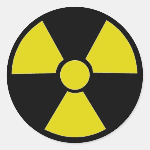 Fallout Round Sticker