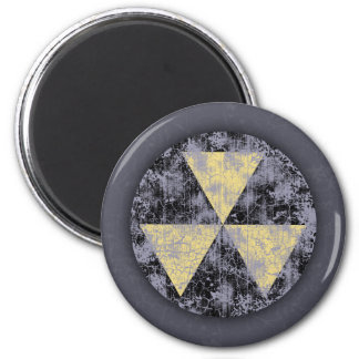 Fallout Shelter-cl-dist 2 Inch Round Magnet
