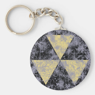 Fallout Shelter-cl-dist Basic Round Button Keychain