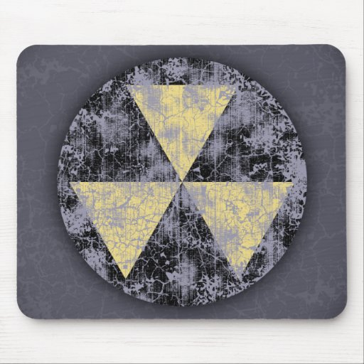 Fallout Shelter-cl-dist Mouse Pads