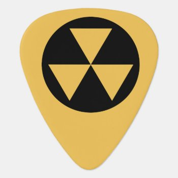 Fallout Shelter Guitar Pick by The_Pick_Place at Zazzle