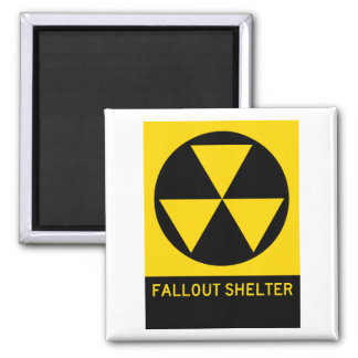 Fallout Shelter Highway Sign Magnet