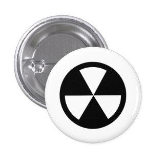 'Fallout Shelter' Pictogram Button
