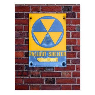 Fallout Shelter Postcard