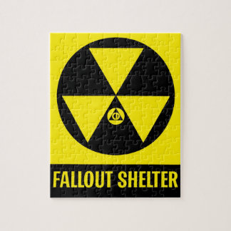 Fallout Shelter Poster Jigsaw Puzzle