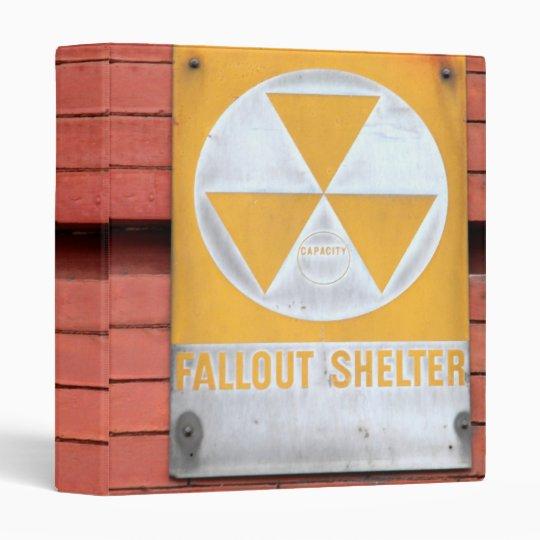 Fallout Shelter Sign Binder