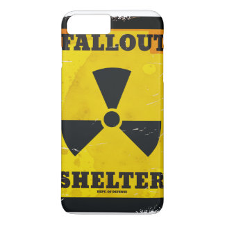 Fallout Shelter vintage warning poster iPhone 7 Plus Case
